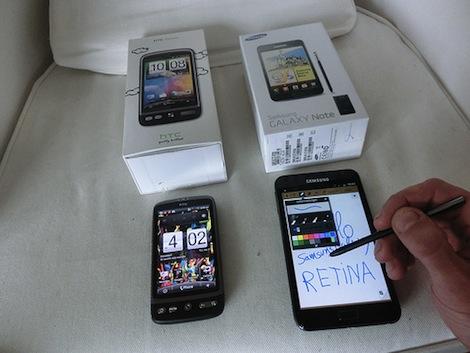携帯電話販売ランキング、上位に大きな変動はなし。「GALAXY Note SC-05D」は初登場10位にランクイン。