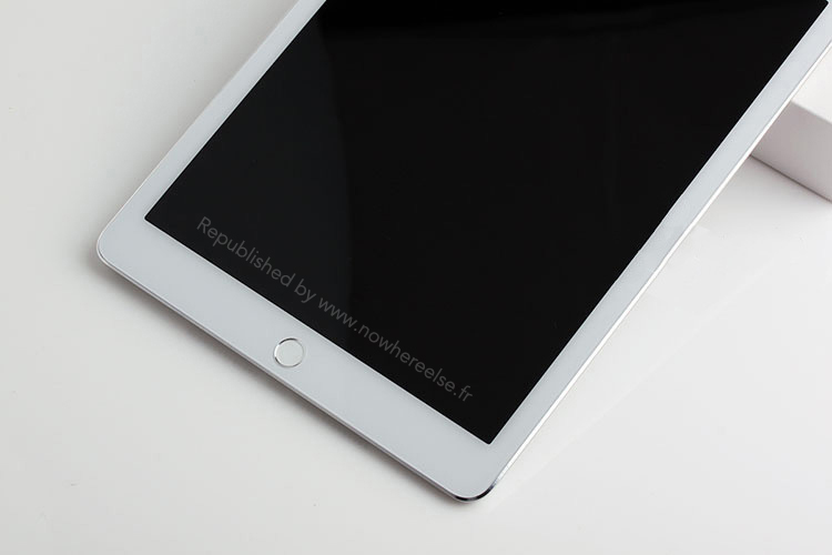 iPad Air2のモックアップ画像がリーク