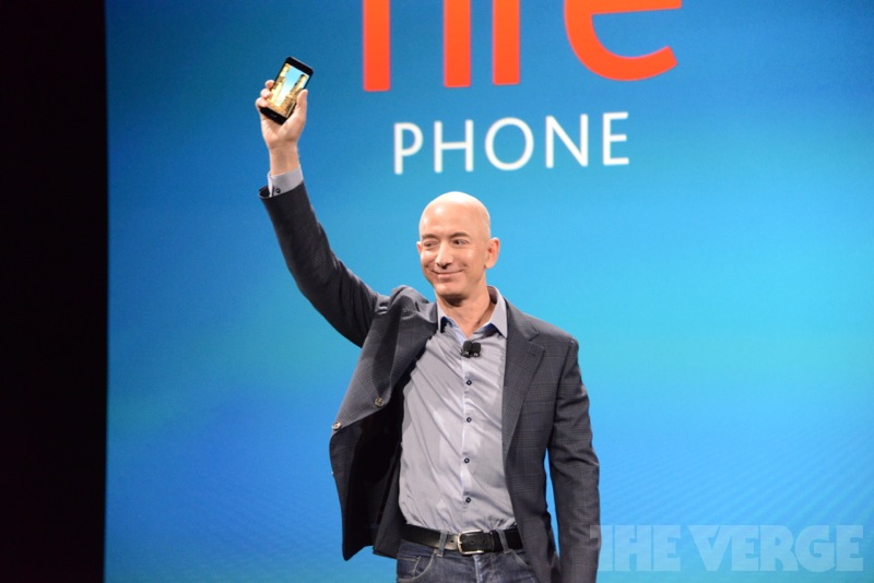 Amazon、3Dに対応した独自スマートフォン「Fire Phone」を発表!
