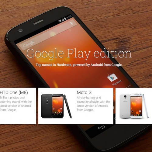 Google Play Edition3機種の販売が終了ー近々、新機種が登場か
