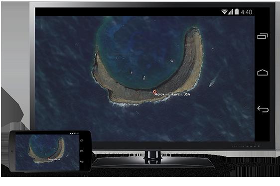 Chromecastを使ってAndroidの画面をテレビに映し出す方法!