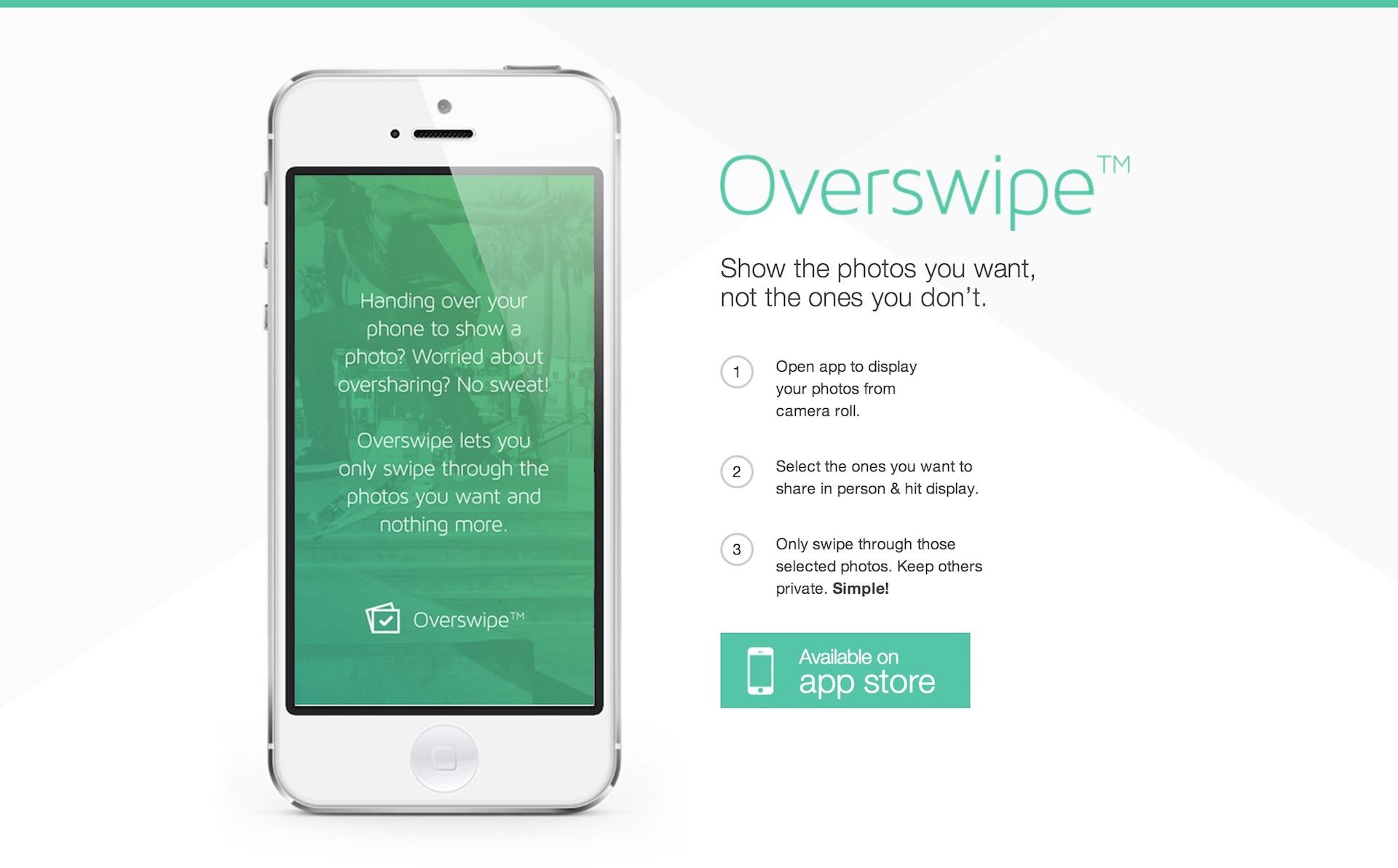 友だちに指定した画像だけを見せられるiPhoneアプリ「Overswipe」が超ベンリ!