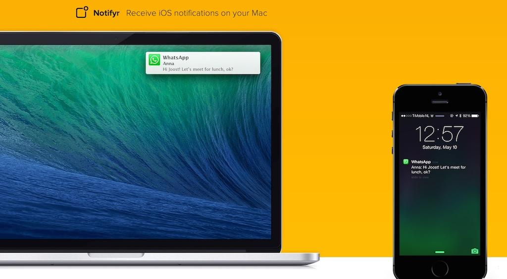 iPhoneの通知をMacで受け取れるアプリ「Notifyr」の設定方法と使い方