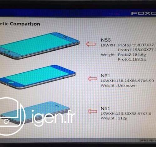 iPhone 6のサイズや重さ、デザインなど詳しい情報がリーク
