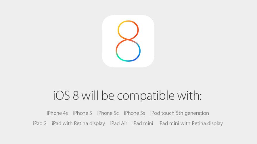 速報:iOS 8の配信日(リリース日)は9月17日から!