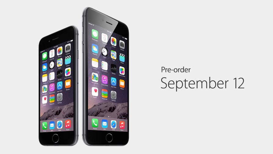 速報:iPhone 6の予約受付は9月12日から!