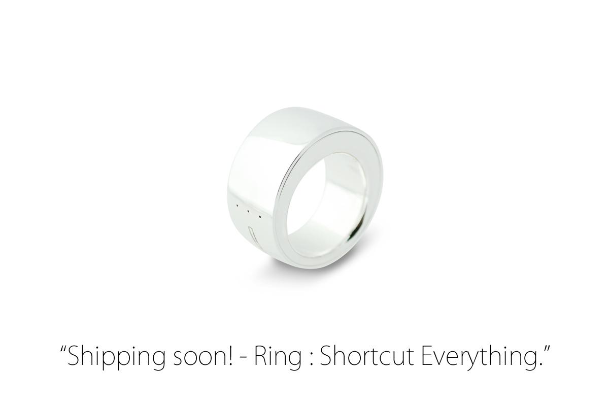 魔法の指輪型ウェアラブルデバイス「Ring」がついに10月9日から発送開始