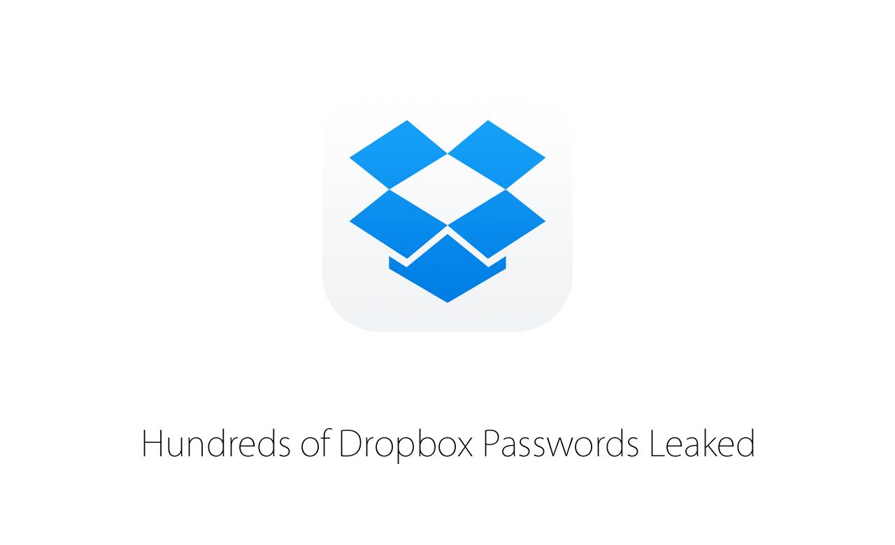 Dropboxのパスワード、数百件が流出かー最大700万件分のパスワードが流出する可能性も