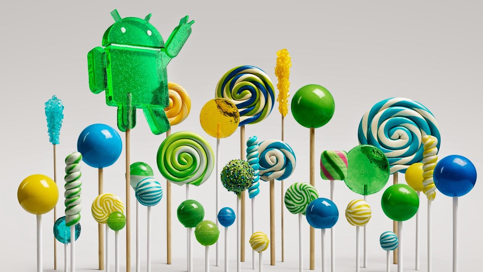 速報:グーグルがAndroid 5.0を公式発表。コードネームはロリポップ(Lollipop)に