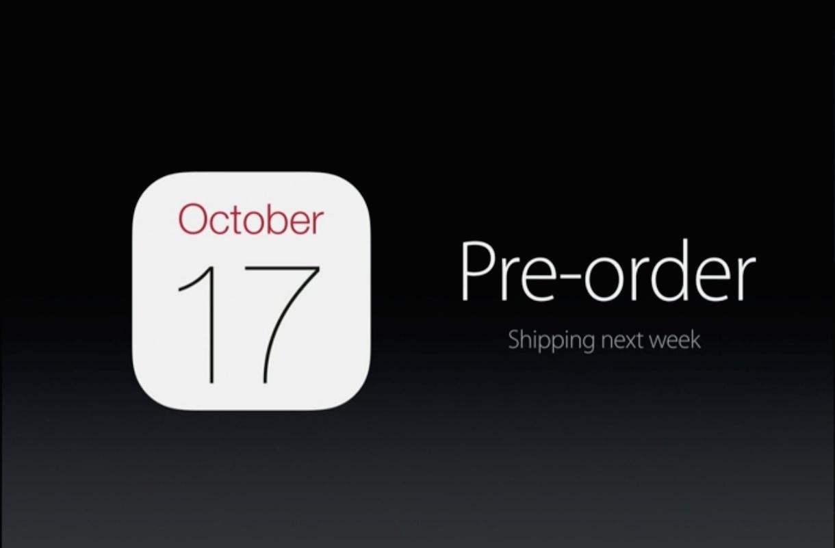 速報:iPad Air2とiPad mini3の発売日は10月20日以降に