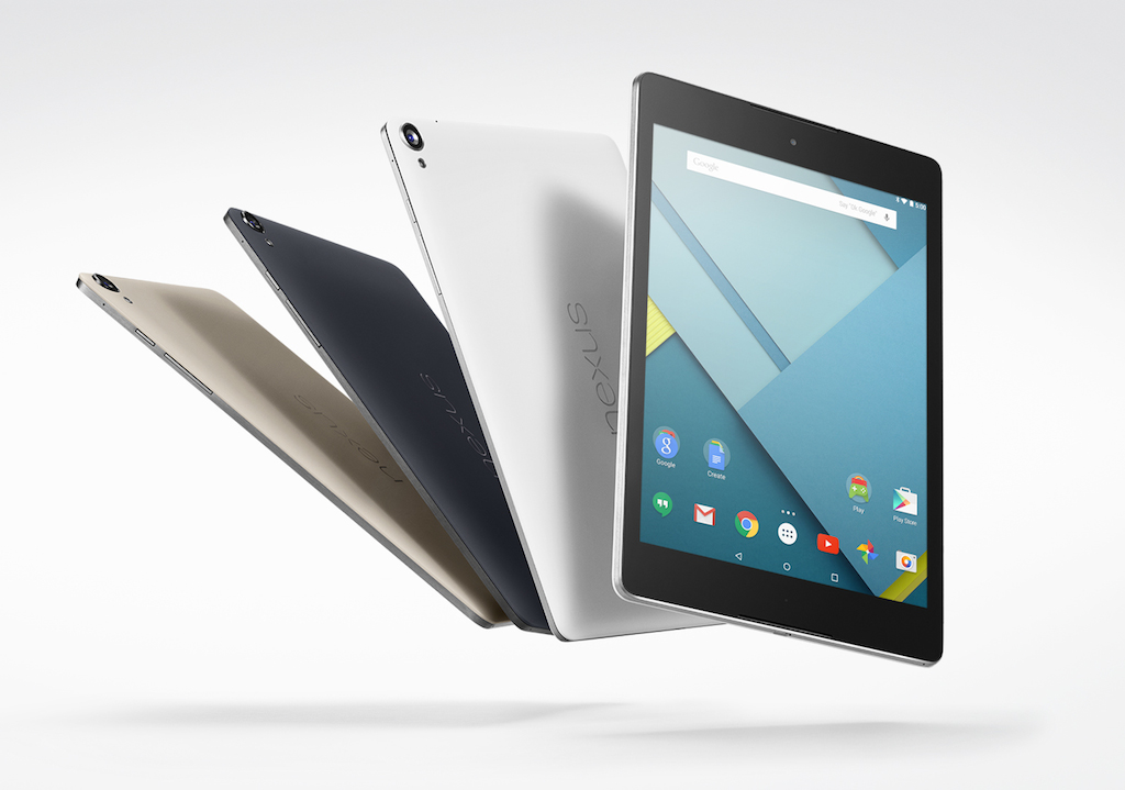 Nexus 9は10月18日午前2時から予約開始、Amazonでも購入可能に