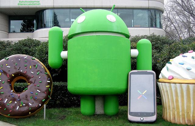 Androidのバージョンシェア、JellyBeanが2位にランクアップも最新バージョンはたったの2.3%に