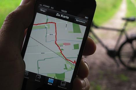 au、iPhone5で利用できるナビアプリを10月中旬に提供へ。