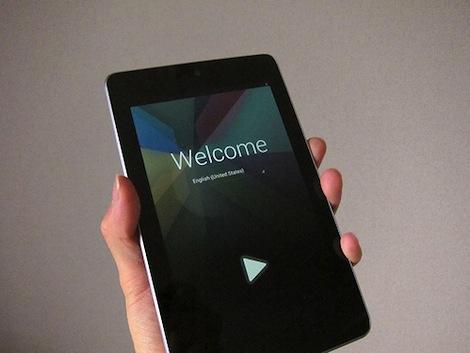 Google、本日午後1時より新製品の発表会を実施。「Nexus7」がついに日本で発売か。