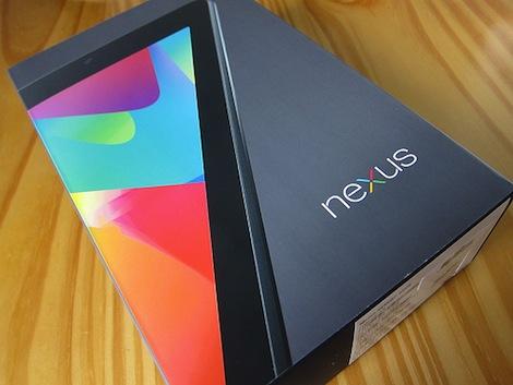 「Nexus 7」開封の儀!