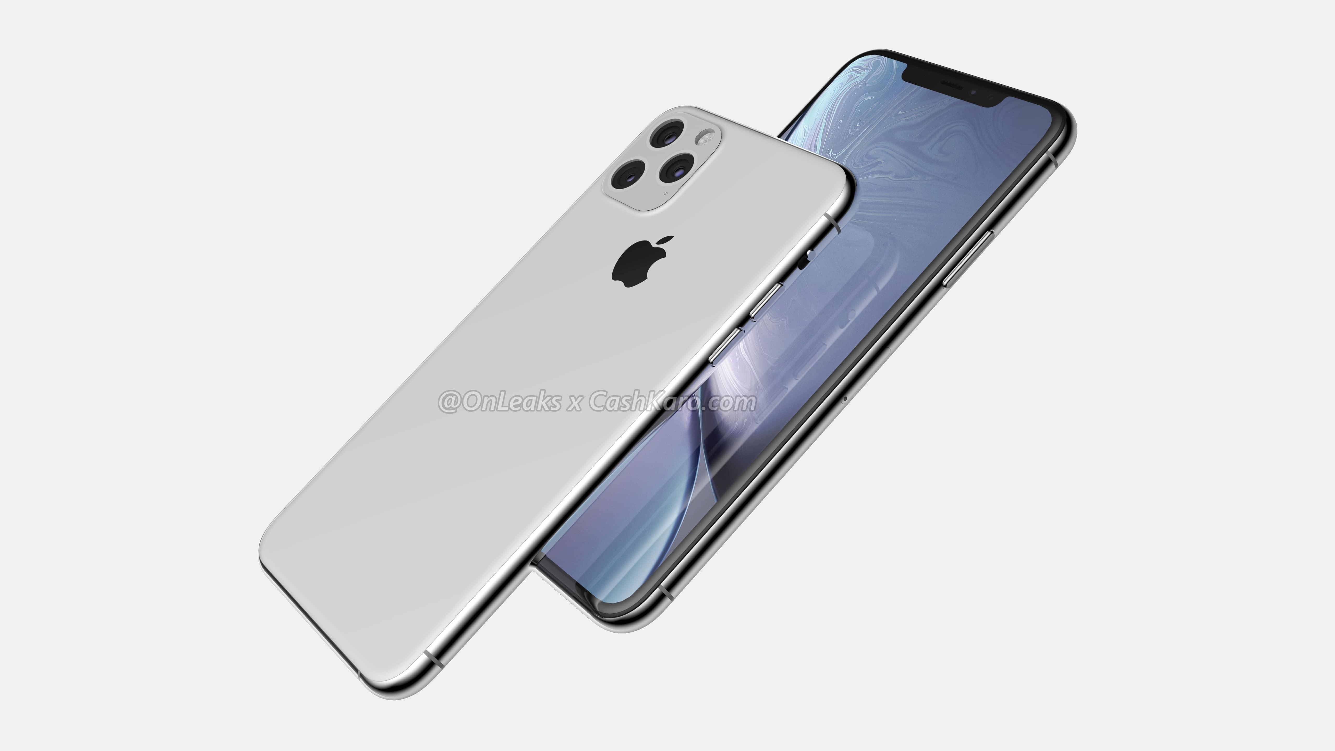 iPhone 11 Maxのデザインはこんな感じ?レンダー画像が登場