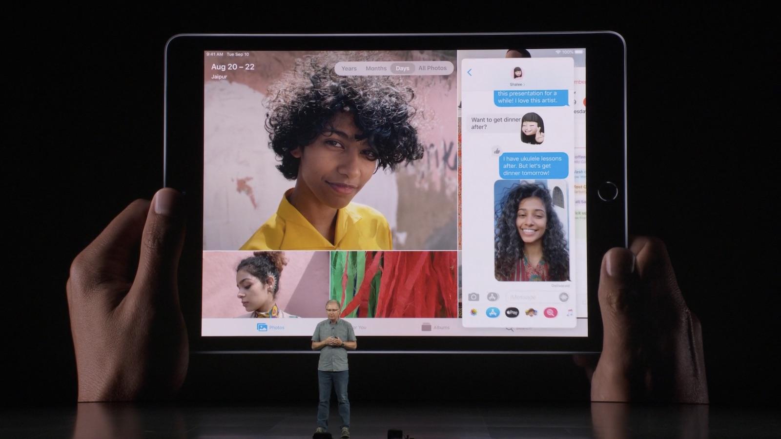 速報:低価格の第7世代iPadが登場。10.2インチ、A10チップ搭載。