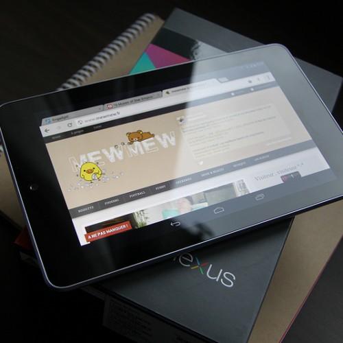 新型のNexus7は5月発表→7月発売か