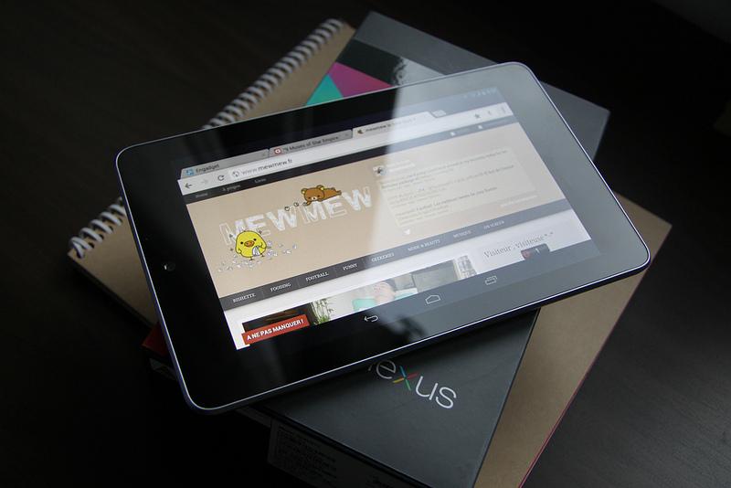 新型Nexus7の実機画像が明らかにーNexusのロゴはなし?