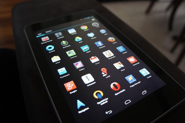 新型のNexus7、iPad Retinaディスプレイモデルよりも高精細なディスプレイを搭載か