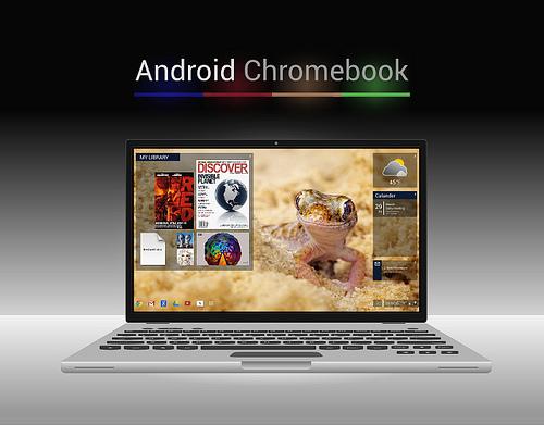 Google、Androidを搭載したノートPCを4社から発売かー価格は1万8000円〜