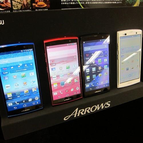 富士通の2013年夏モデル「ARROWS NX F-06E」「ARROWS A 202F」「Disney mobile on F-07E」を触ってきた!