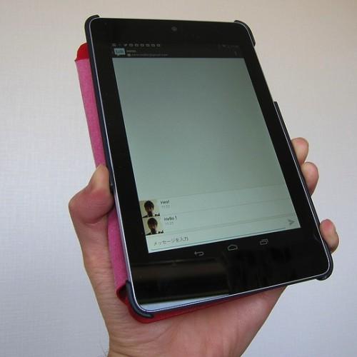新型のNexus7はデザインそのままでLEDを搭載?