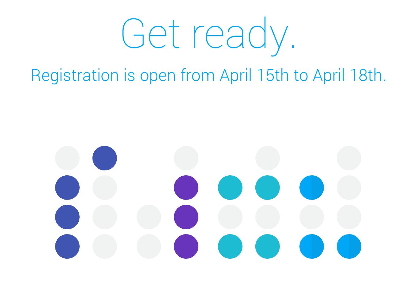 Google I/O 2014のチケット申し込み受付日が延期に
