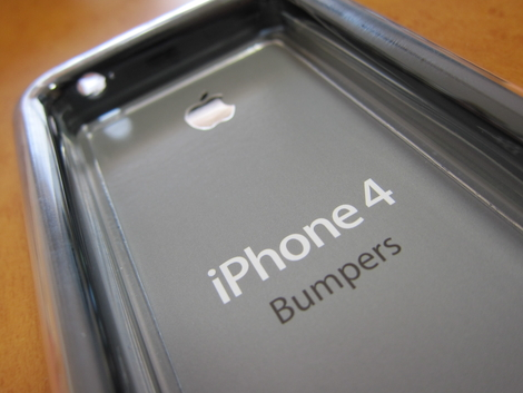 iPhone 4ケースプログラムで「Bumper」が届いた!