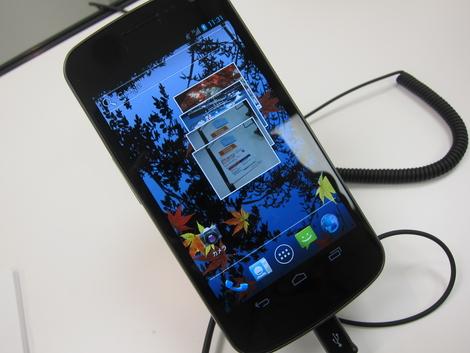 ドコモ内覧会で「Galaxy Nexus SC-04D」を触ってきました!