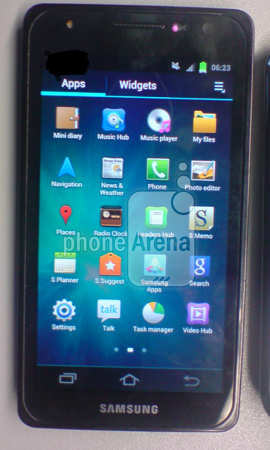 GALAXY S3の実機画像がリーク?ホームボタンは非搭載?