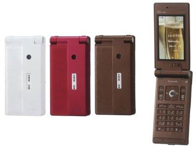 パナソニック・モバイル初のWIN端末「W51P」