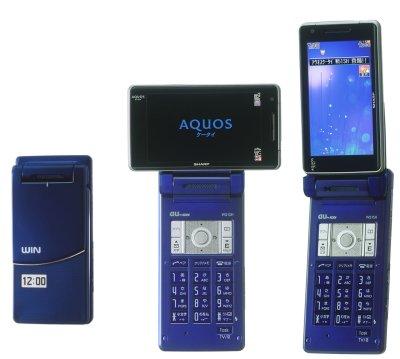 au、アクオスケータイの「W51SH」を3月10日より発売。