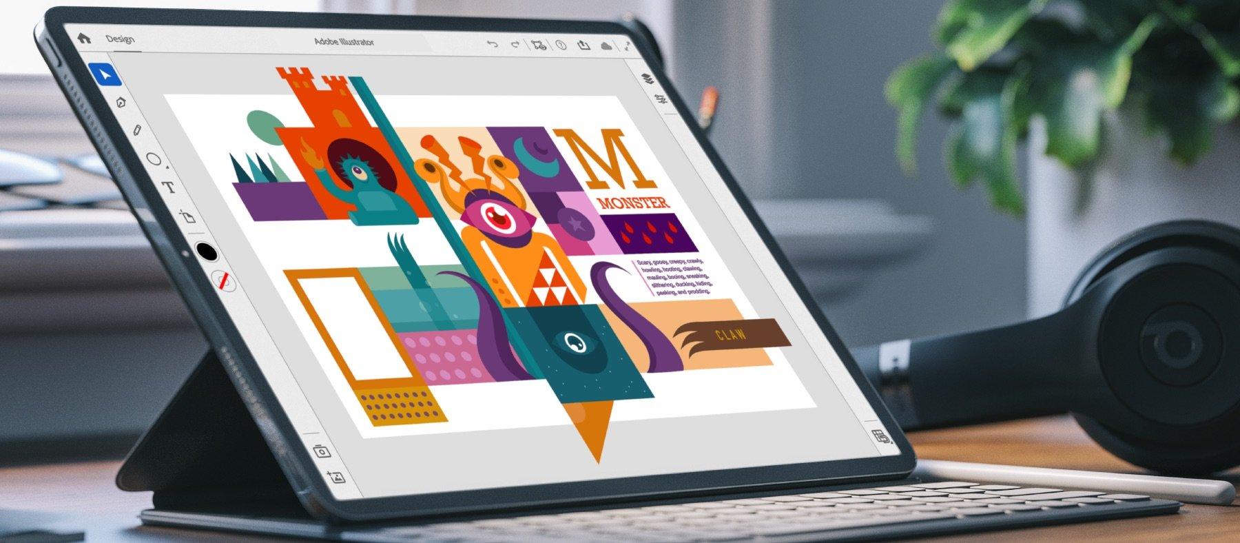 iPad版「Illustrator」、ついに2020年に登場