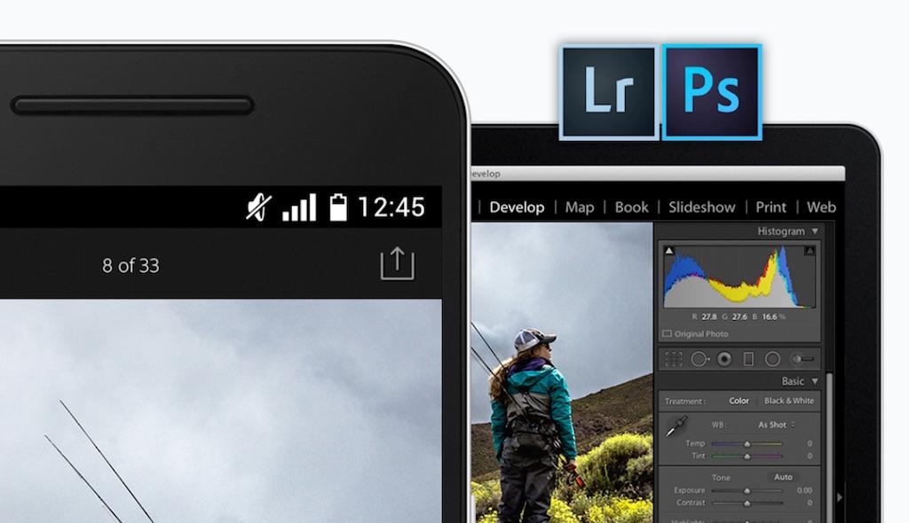 無料化、Adobeの写真編集アプリ「Lightroom for Android」で本格編集が0円で利用可能に