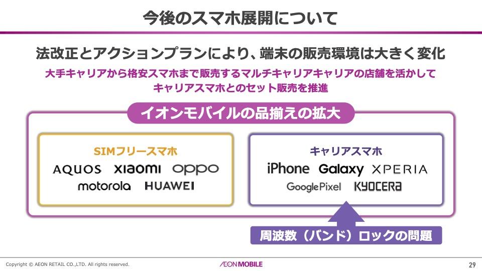 「他のMVNOは絶対できない」――イオンがキャリア端末とセット販売開始へ。価格選んでiPhone購入も