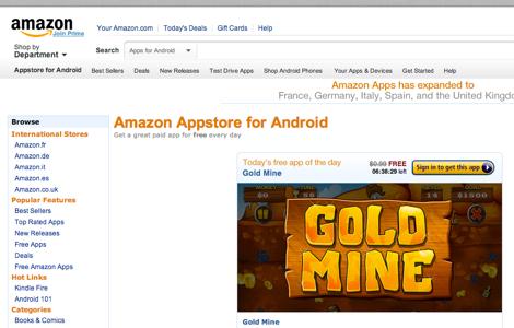 Amazon、独自のAndroidアプリストアを日本でも提供へ。