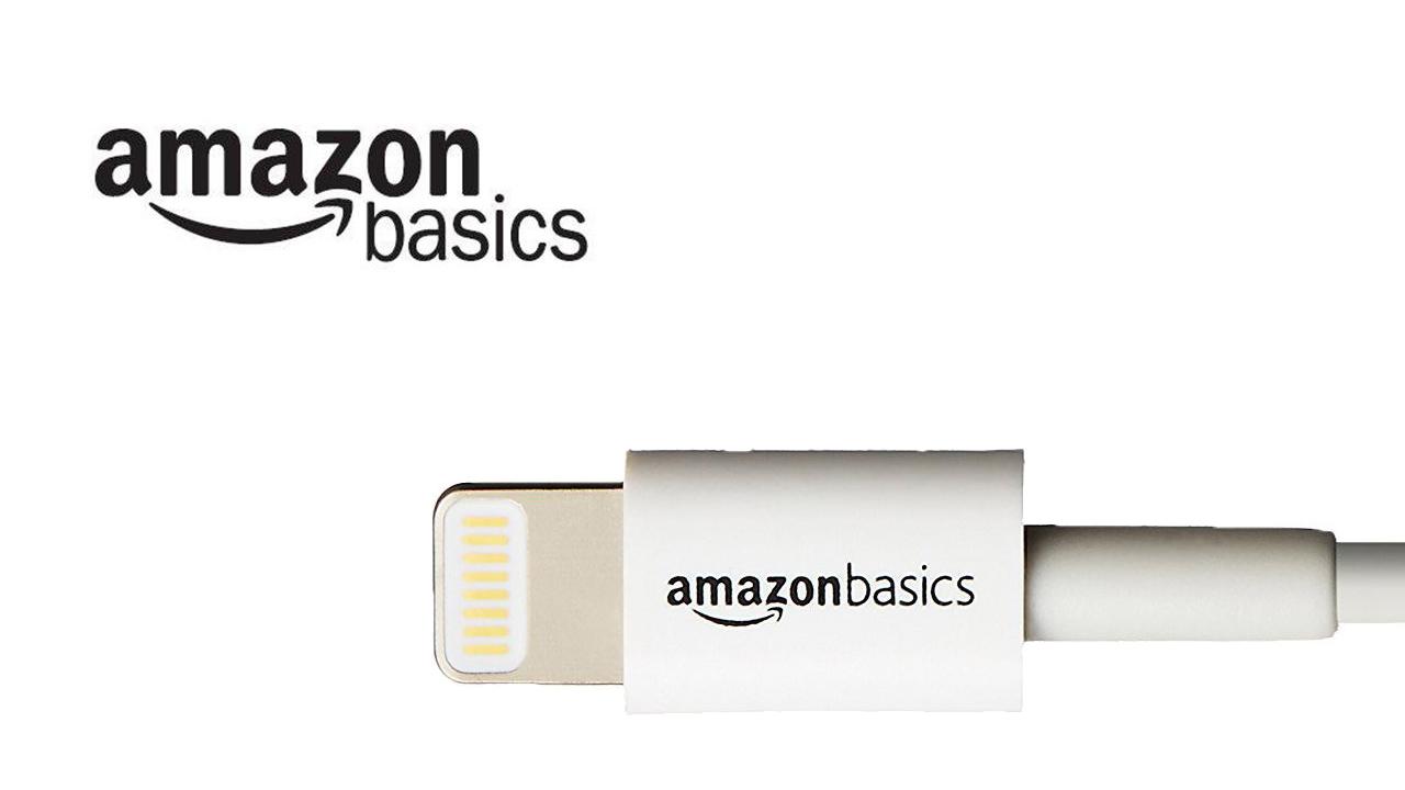 最安値、AmazonのハイクオリティLightningケーブルが623円