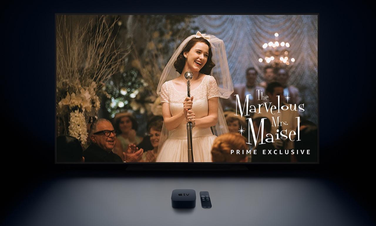 Apple TV、ついにAmazonプライムビデオが視聴可能に。販売復活はまだ