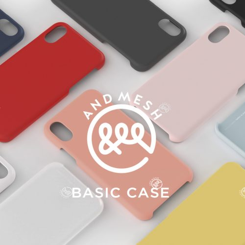 半額!AndMesh、しっとりした肌触りの「Basic Case for iPhone X」を発売