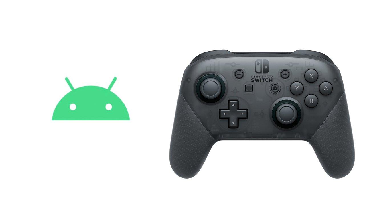 Android 10、ニンテンドースイッチ Proコントローラーに対応