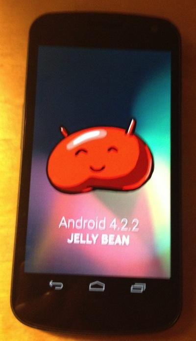 Android 4.2.2の配信間近?アップデートされたGALAXY Nexusがリークされる。