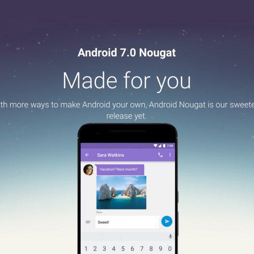 グーグル、Android 7.0 Nougatの配信スタート