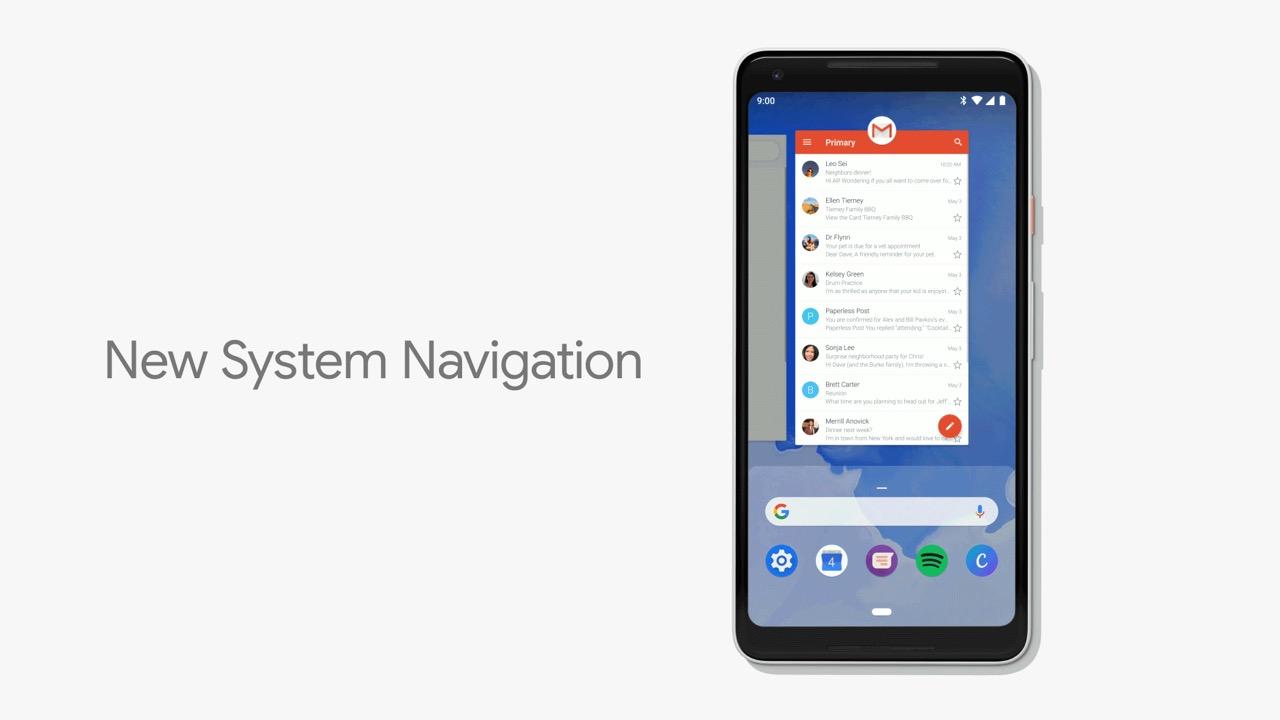 Android P、リリースから10年で操作方法を初めて刷新。「iPhone X」ライクのジャスチャー操作に