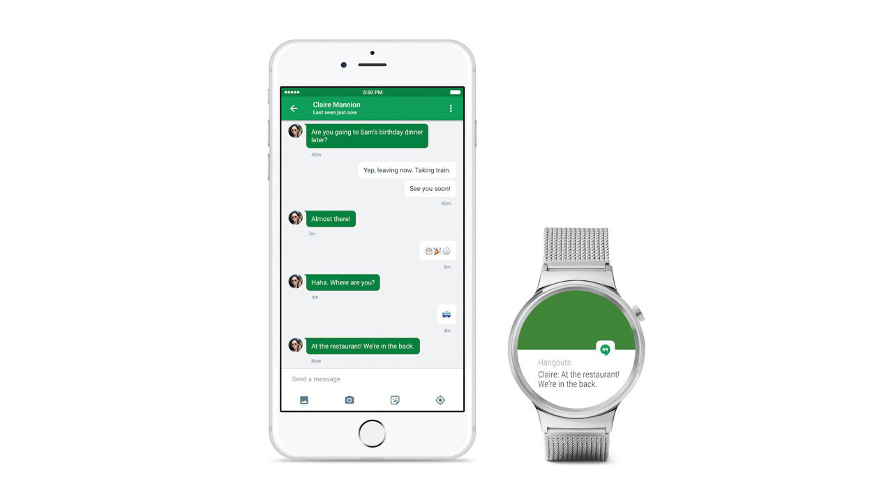 Android Wear、iPhoneに正式対応。高価なApple Watchに挑戦