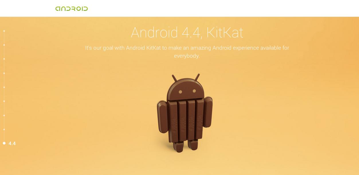 【速報】Android 4.4のコードネームはKitKat(キットカット)に!