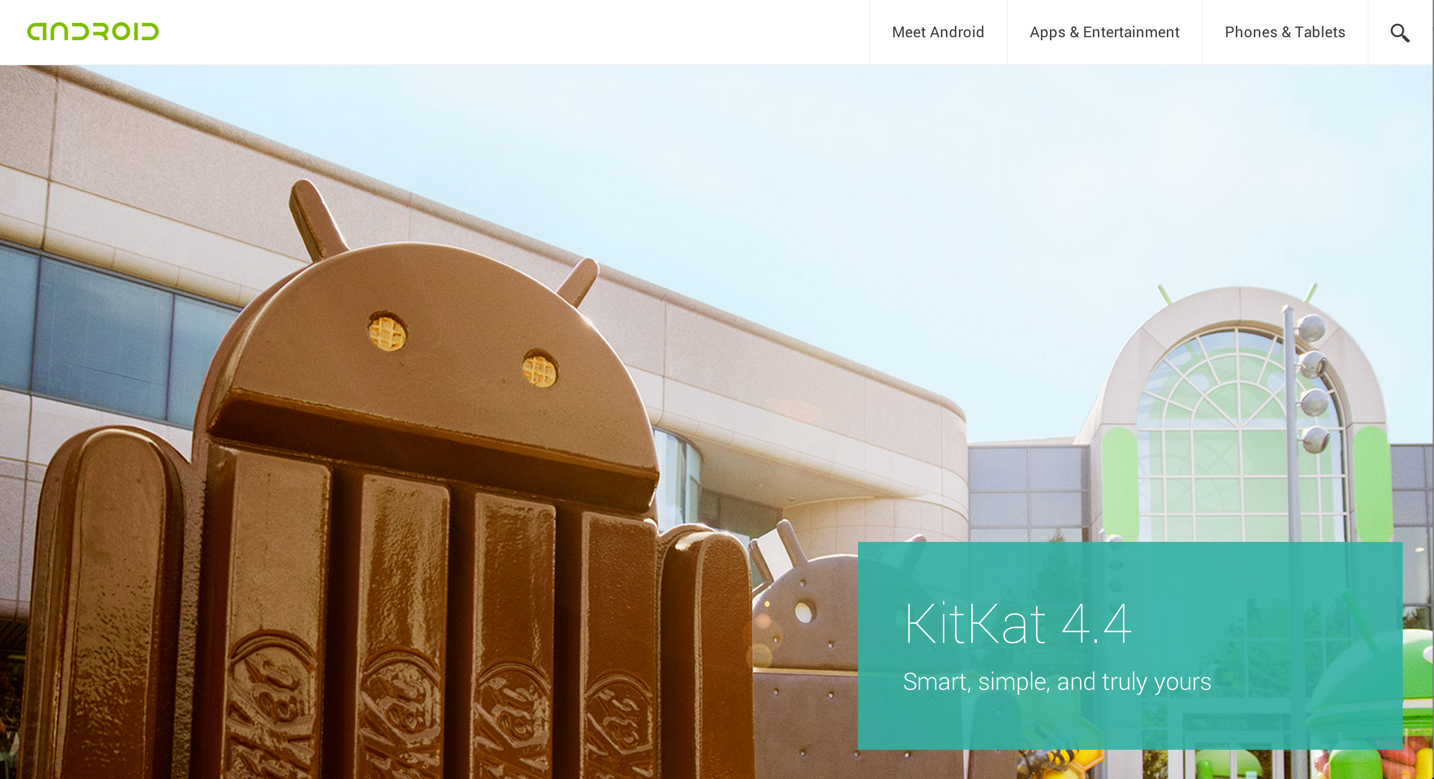 Android 4.4 KitKatが正式発表!512MBのRAMでも快適に動作可能に!