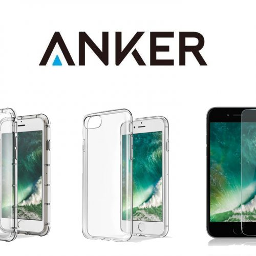 899円〜、AnkerがiPhone 7 / 7 Plus用の保護フィルム・ケースを発売