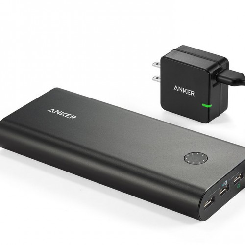 100台限定/1000円オフ:USB-C&新型MacBookをフル充電可能な大容量バッテリー「Anker PowerCore+」が発売