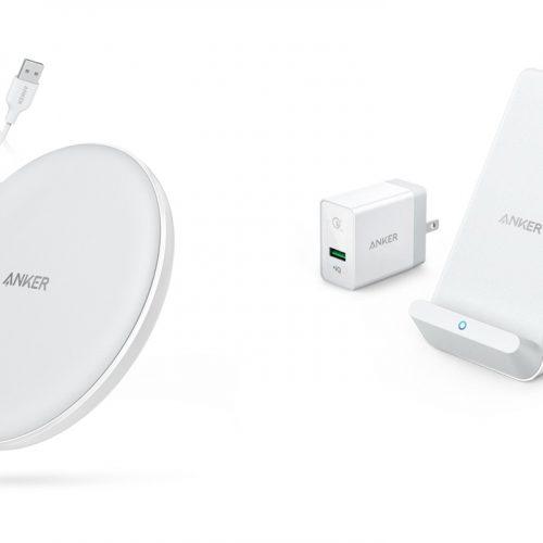 Anker、iPhone対応の高速ワイヤレス充電器2種類を発売。本日のみ500円オフセールも